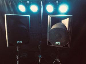 Hieper Sounds - Losse verhuur - Speakerset 1 + Lichtset 1 hoofdfoto
